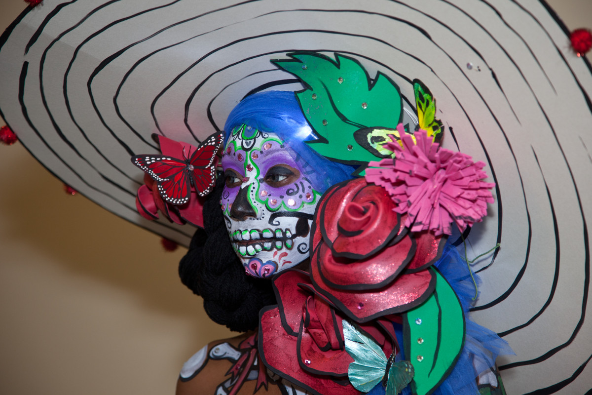 thinking outside the box will produce unique looks for body painting.