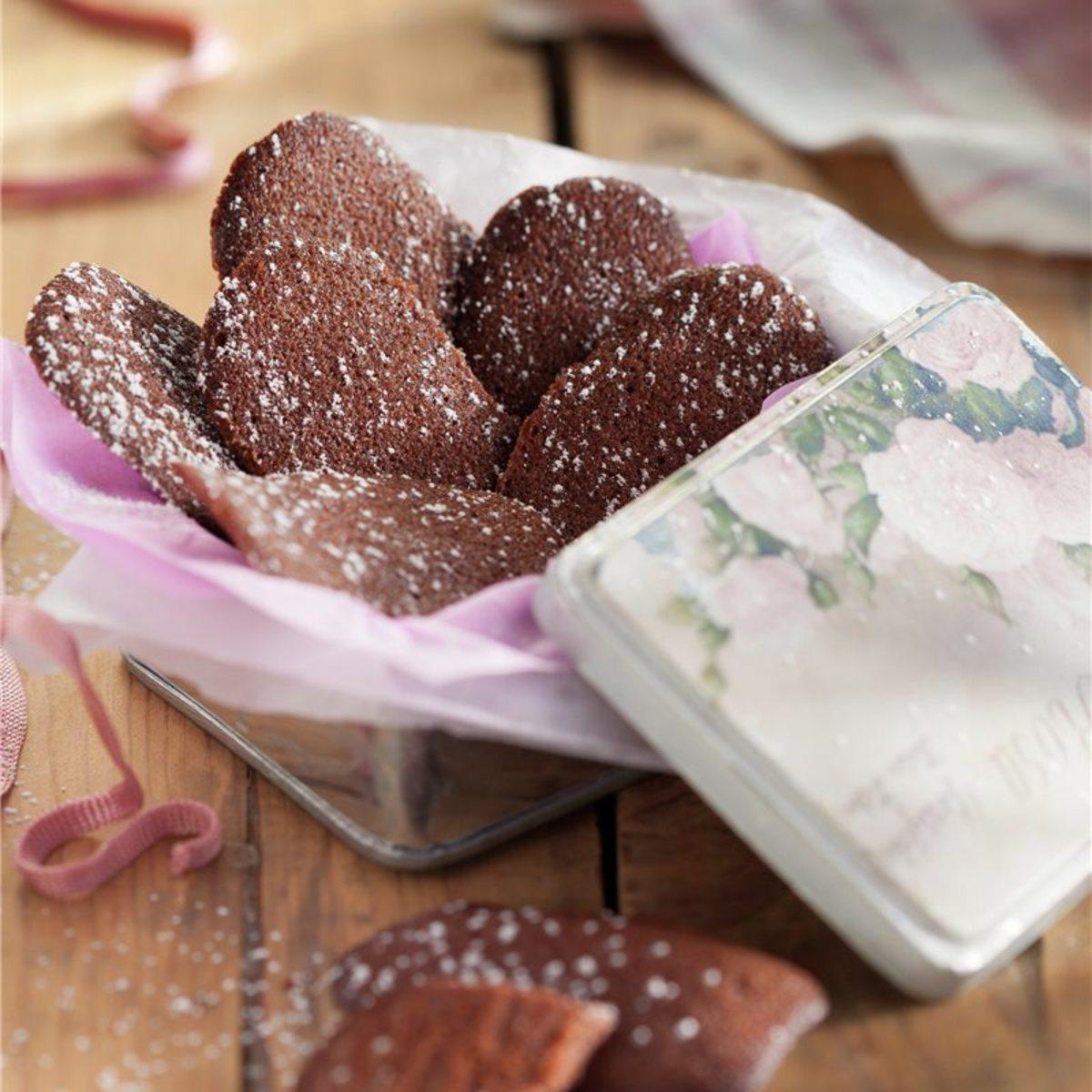Spanish-style chocolate cookies