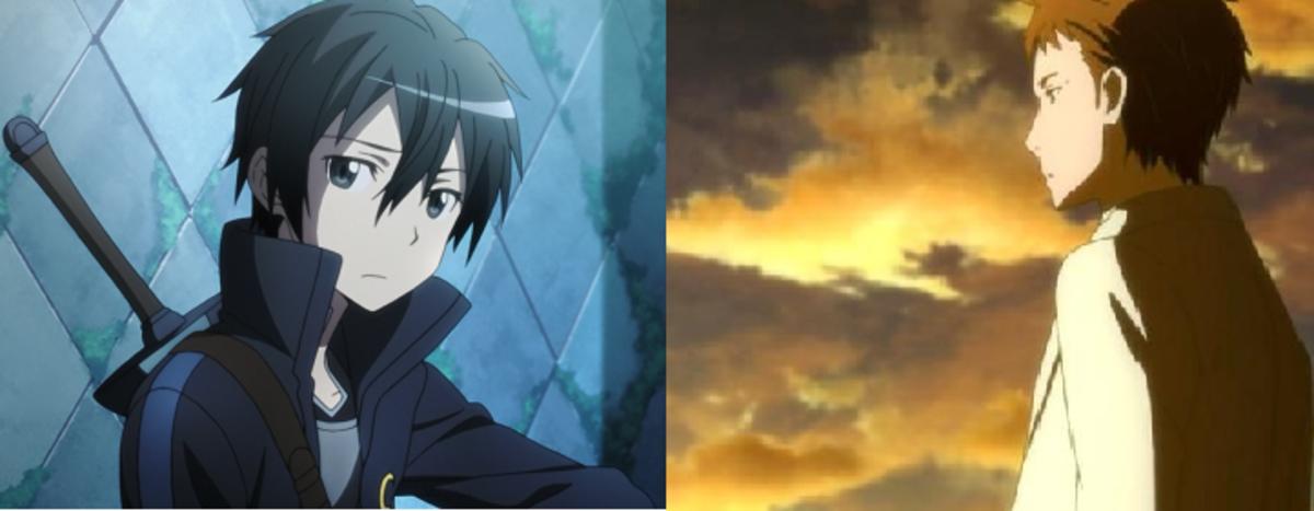Kirito and Akihiko