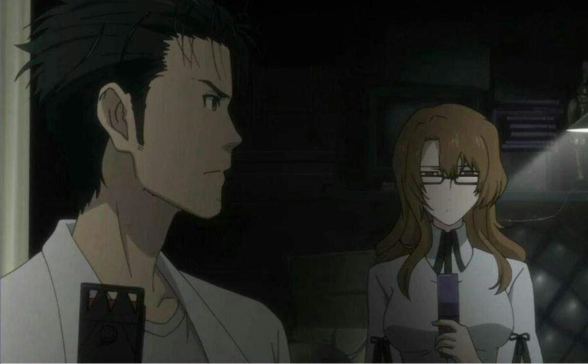 Okabe and Moeka