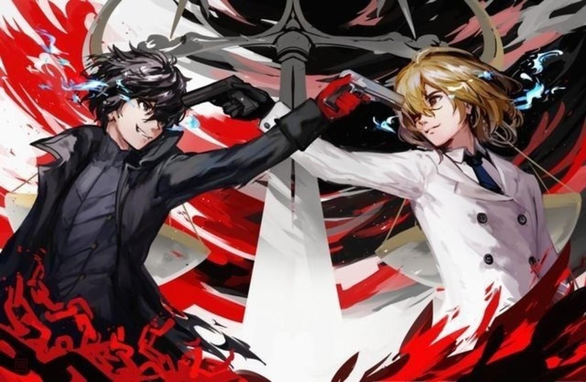 Joker and Akechi