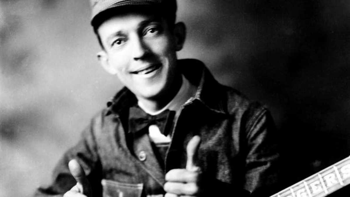 """Jimmie Rodgers was considered as """"the father of Country Music,"""" but he was always giving money and food to the hobo's."""