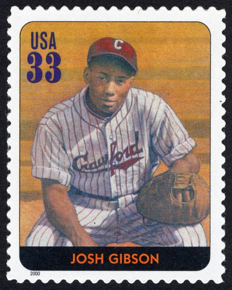 U.S. Postage Stamp of Josh GibsonGibson