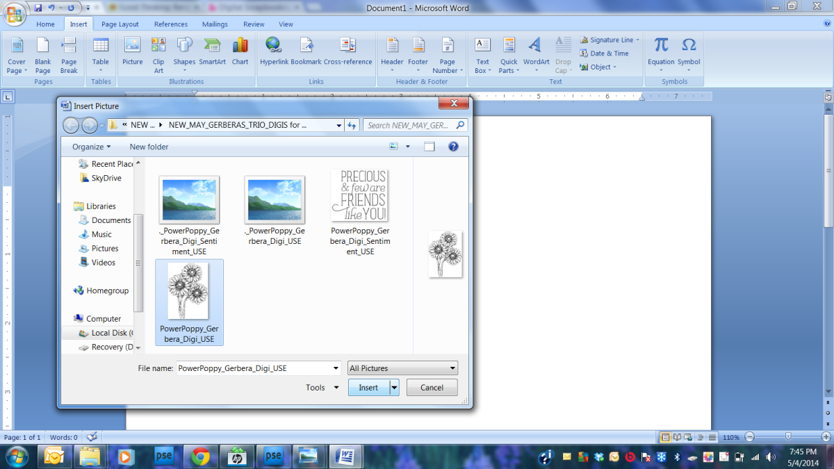 Microsoft Word is one of the easiest photo editing programs