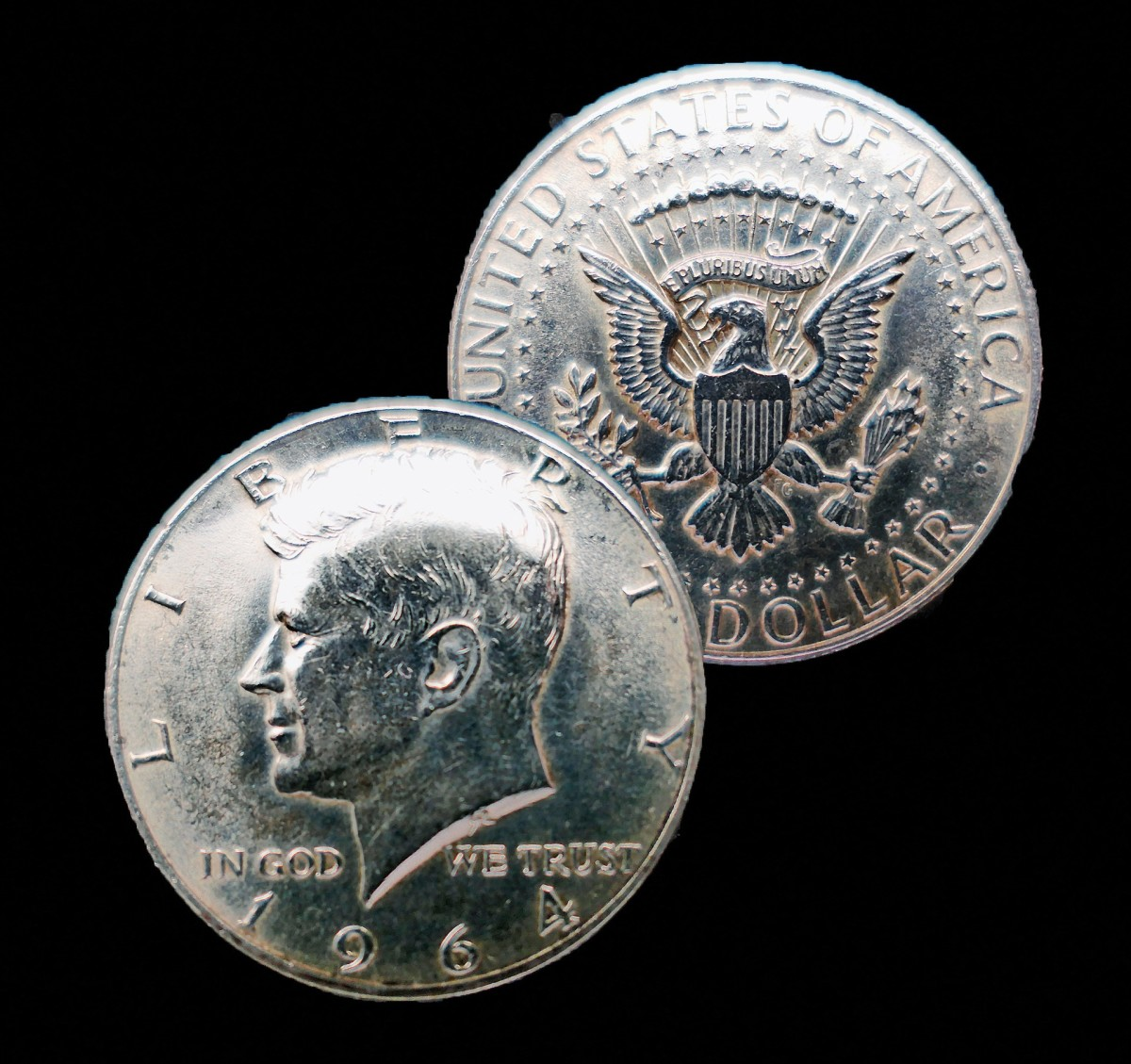 US half dollars made in 1964 and earlier contain 90% silver.