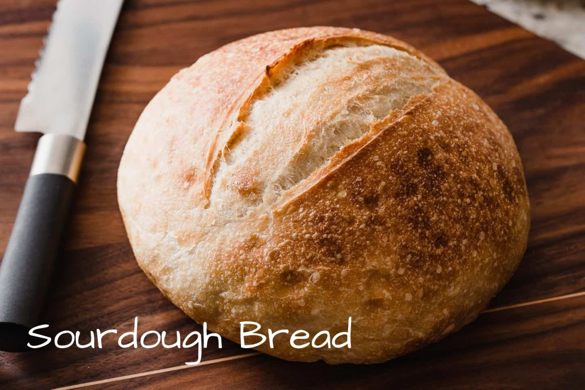 Sourdough bread is easier to make than you think. It all starts with making your starter. You have to plan well in advanced to make your bread: it takes a minimum of five days to create the starter.