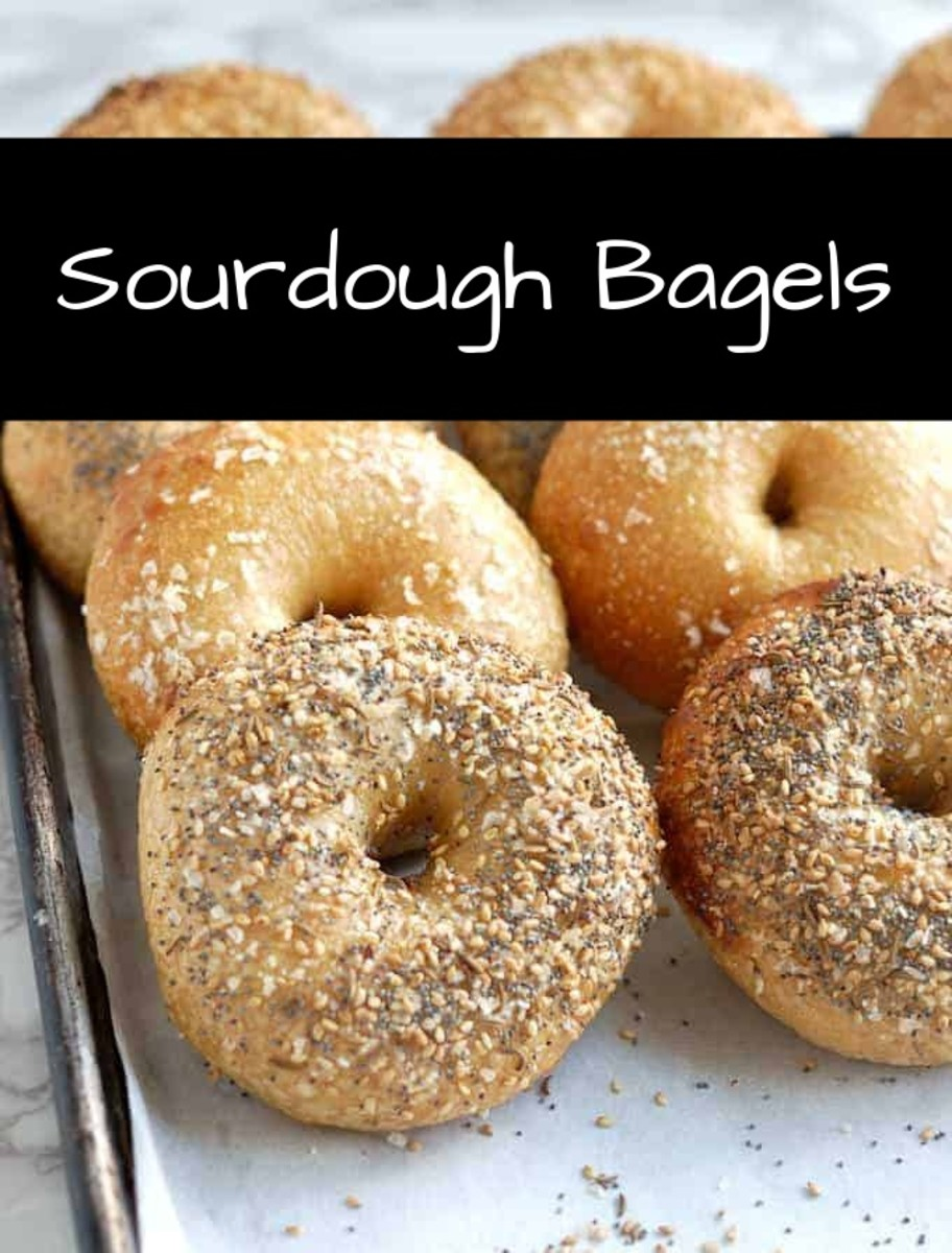 Sourdough bagels will impress your friends. The first step is getting the right starter: you want it fluffy and light.