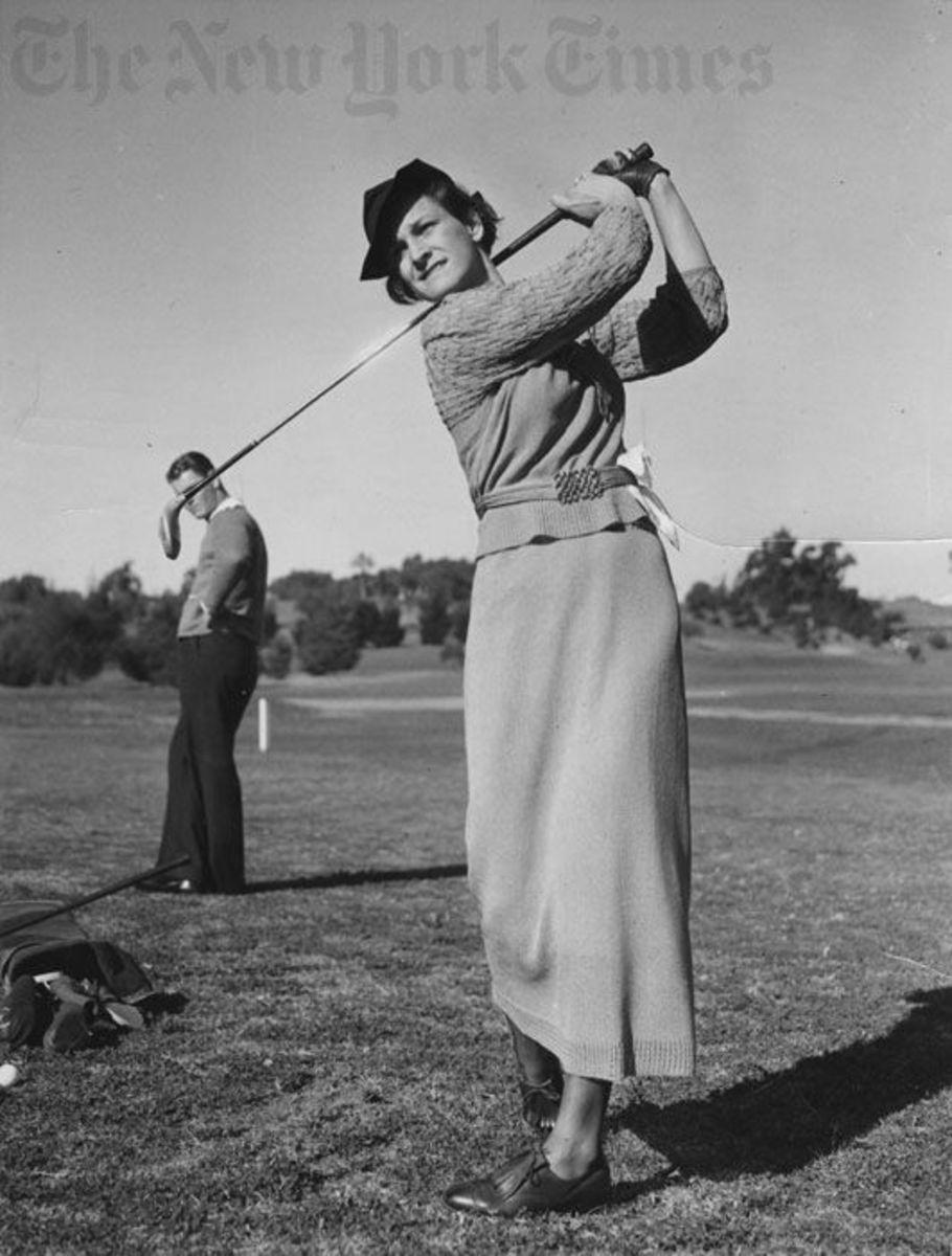Golf Fashion 1950s