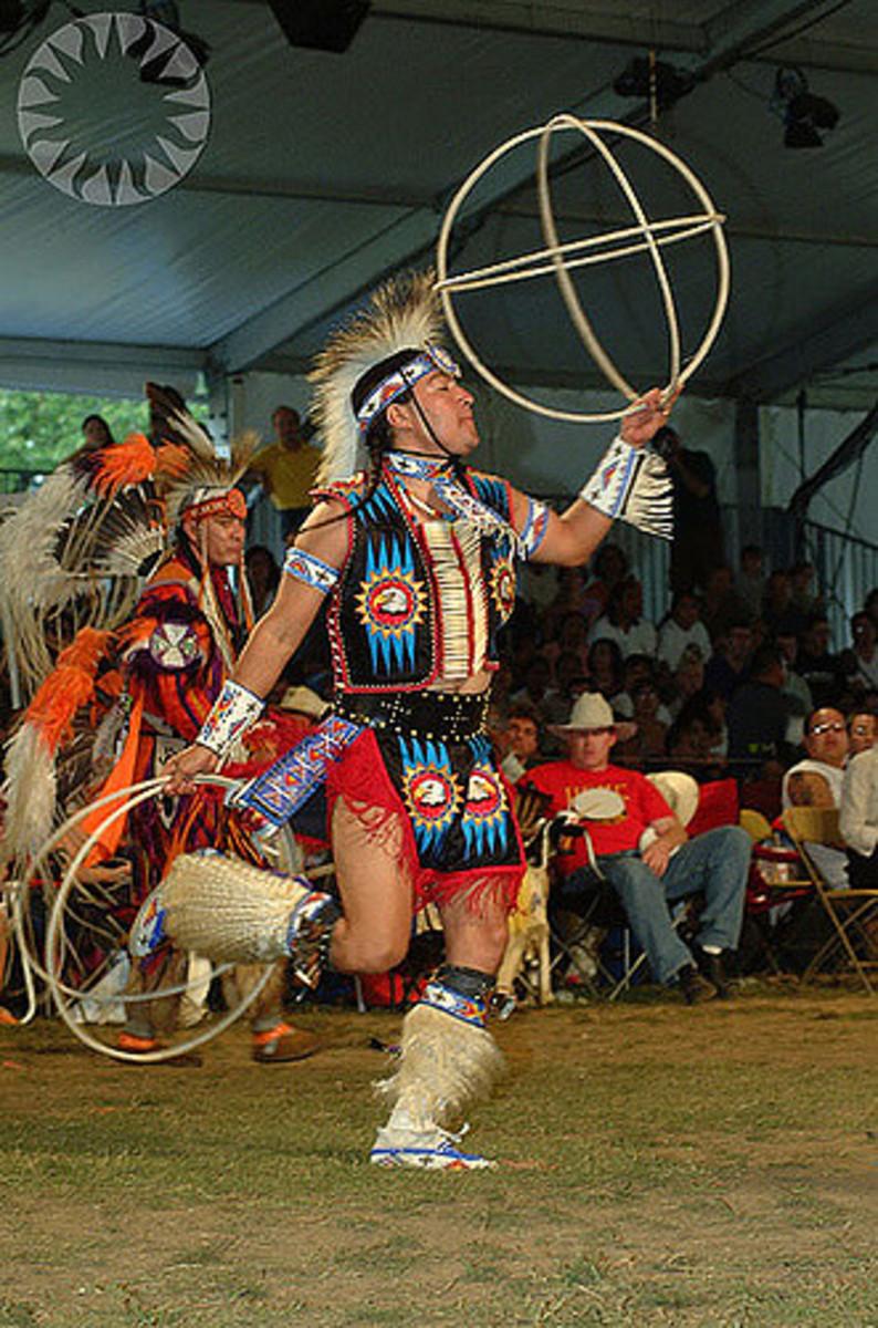 Southwestern American Hoop Dance