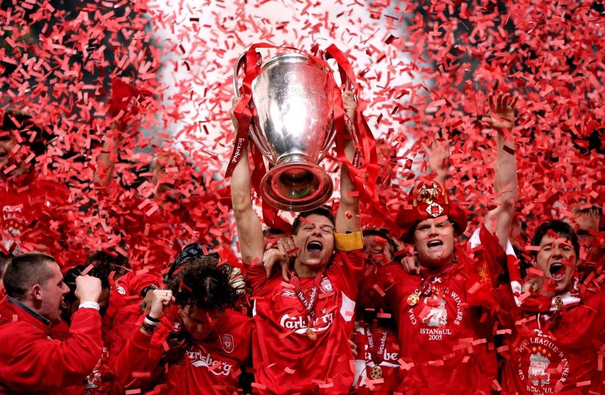 When Liverpool won their fifth UCL trophy