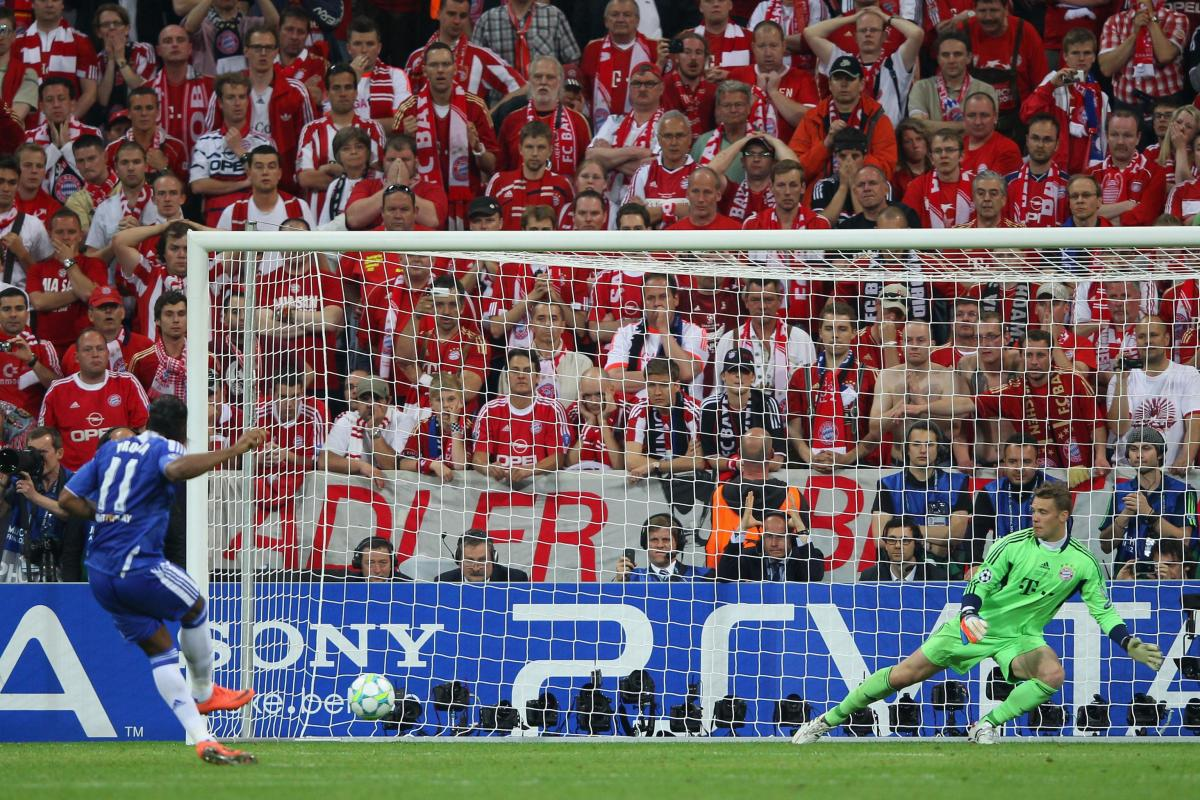 Penalty that brought Chelsea to their first UCL trophy