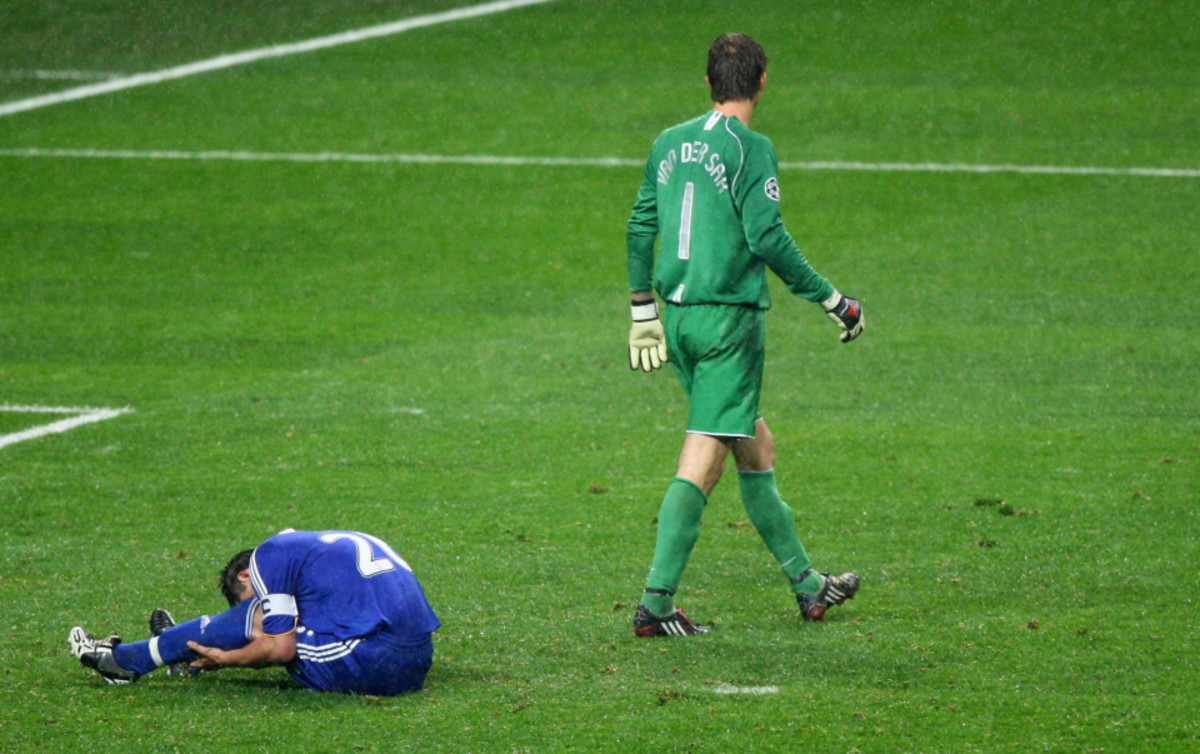 Iconic moment from John Terry