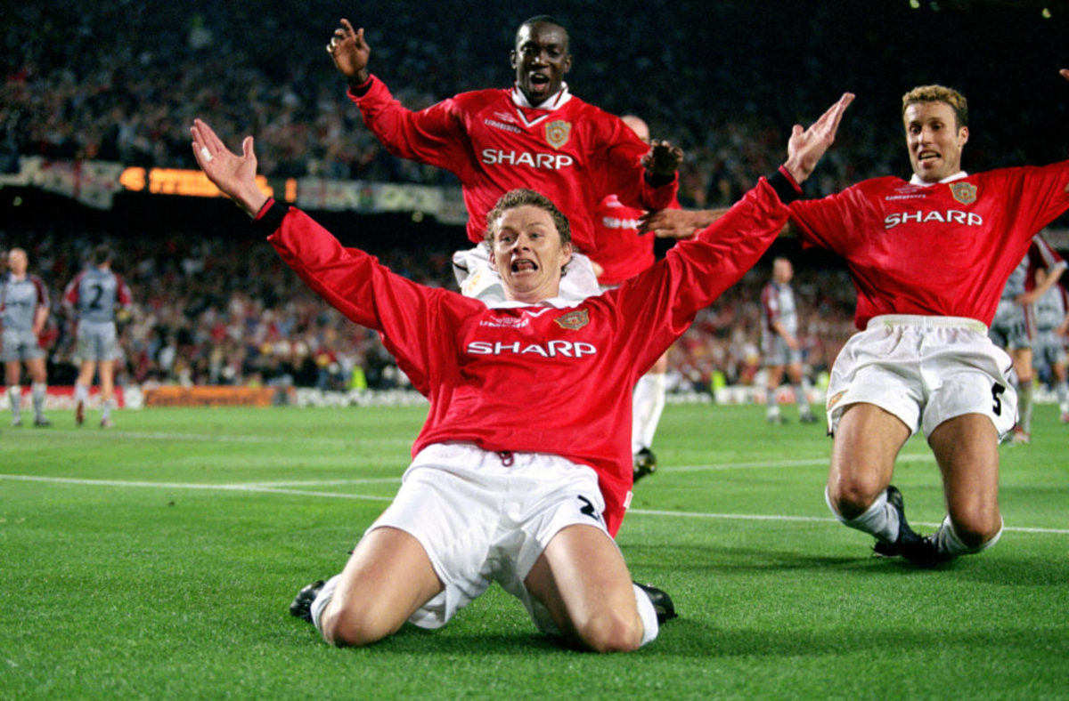 the key players in that match, Ole Gunnar Solskjær
