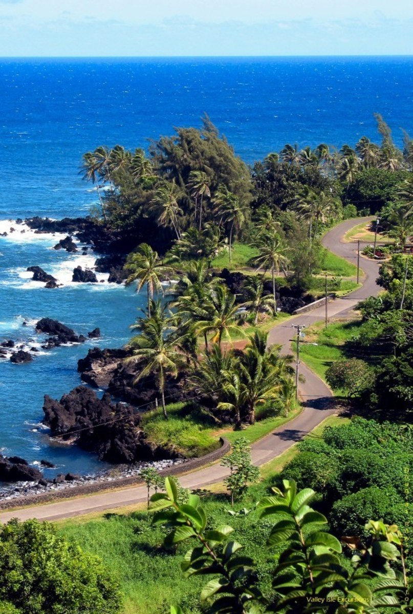 The Hana Highway is another name for the path to Hana. It evolved from a Hawaiian trail into the historic trail had saw the highway.