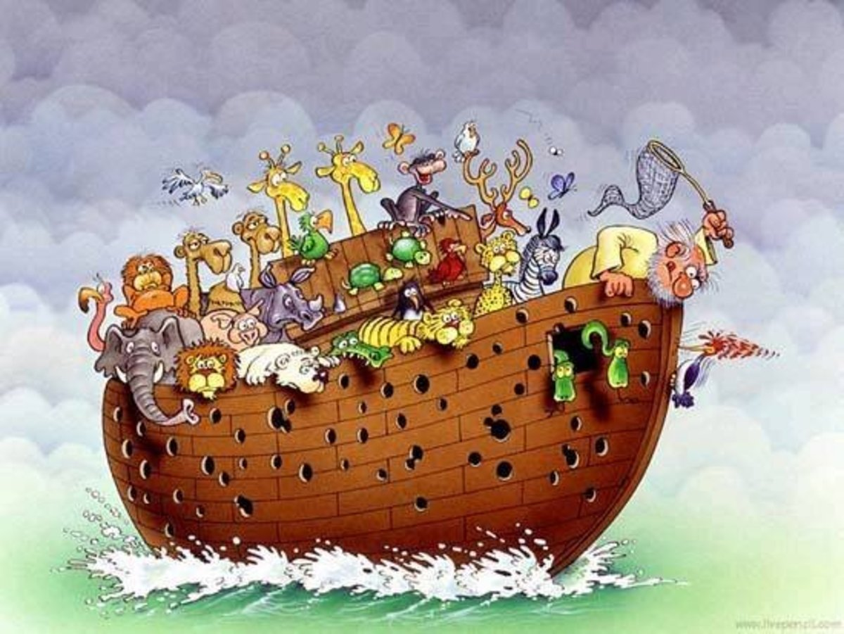 Noah's Ark: A Comedy of Epic Proportions