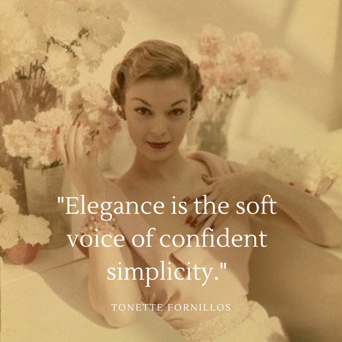 What Is Elegance to the Woman of Today