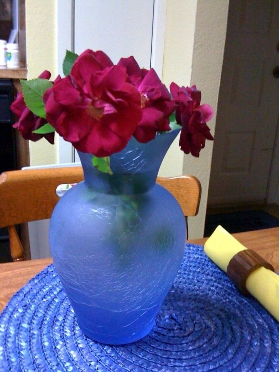 How To Put Fresh Flowers In A Vase