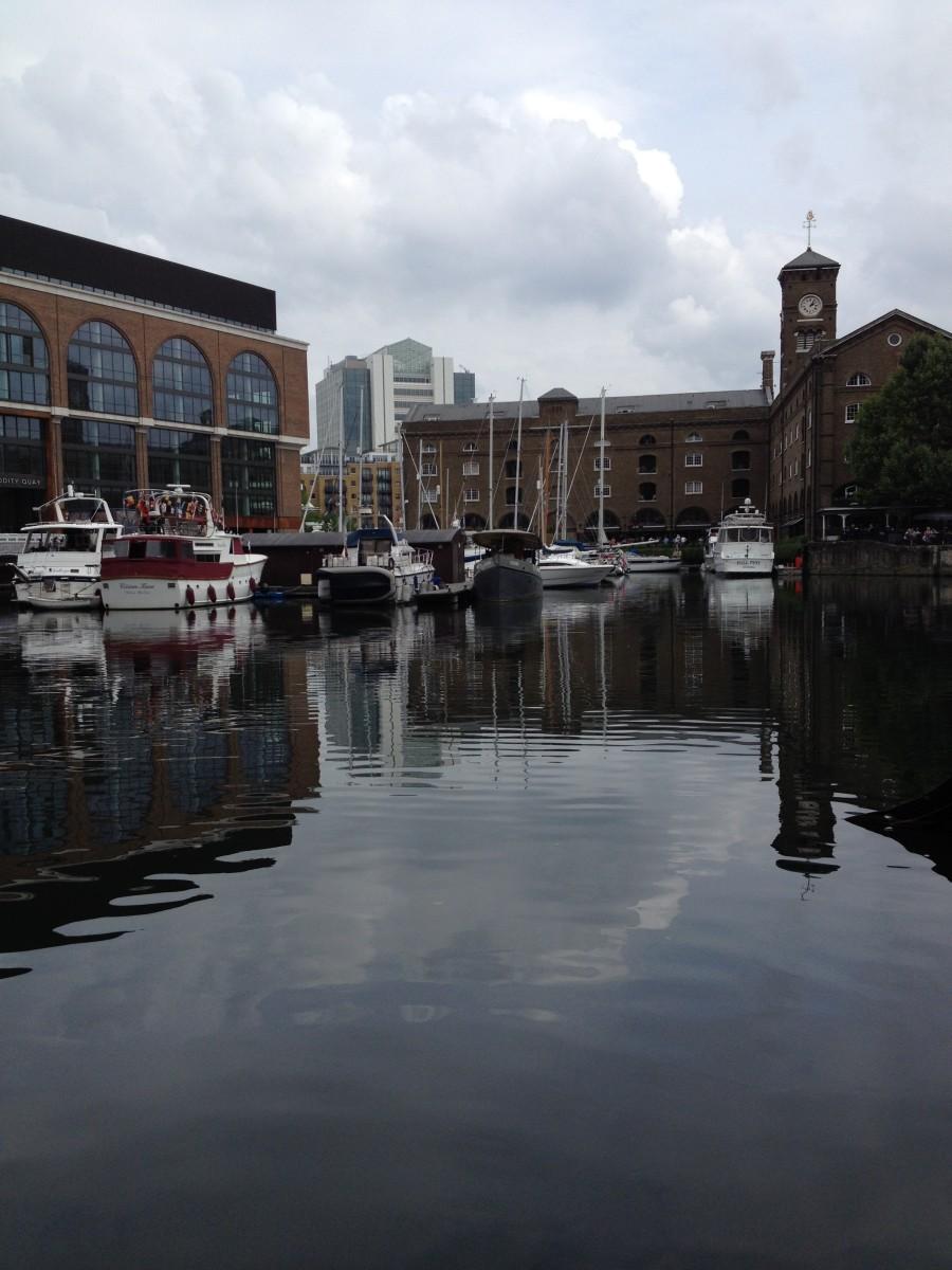 St Katharine Docks - St Catherine's Dock - Near The Tower of London.