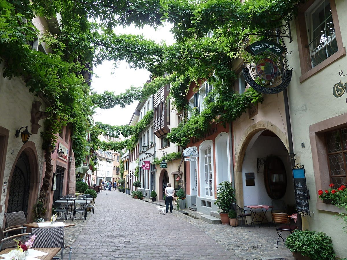 Photos in Historic Freiburg, Germany - Flavor of a Day