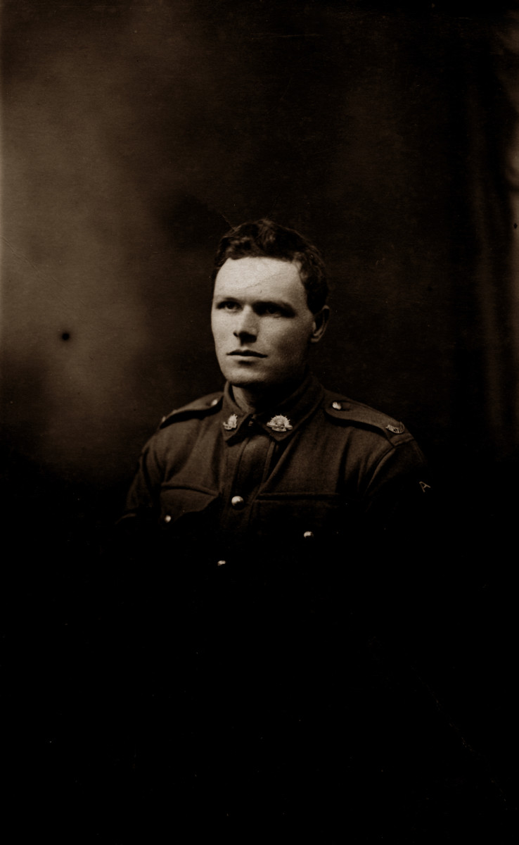 Re-discovering my great grandfather, Reginald Trevor: Letters home from World War 1