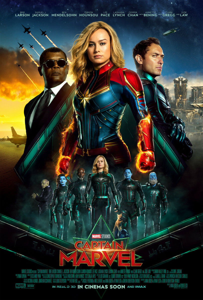higher, further, faster: captain marvel is finally here! | hubpages