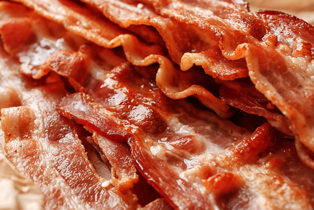 In 1969, you could buy a one-pound package of sliced bacon for 89 cents.