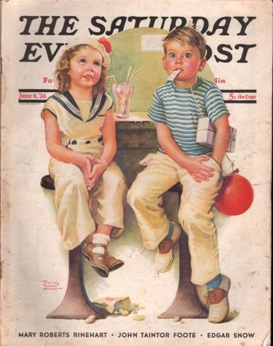 In 1969, the last edition of the Saturday Evening Post (1821-1969) was published.