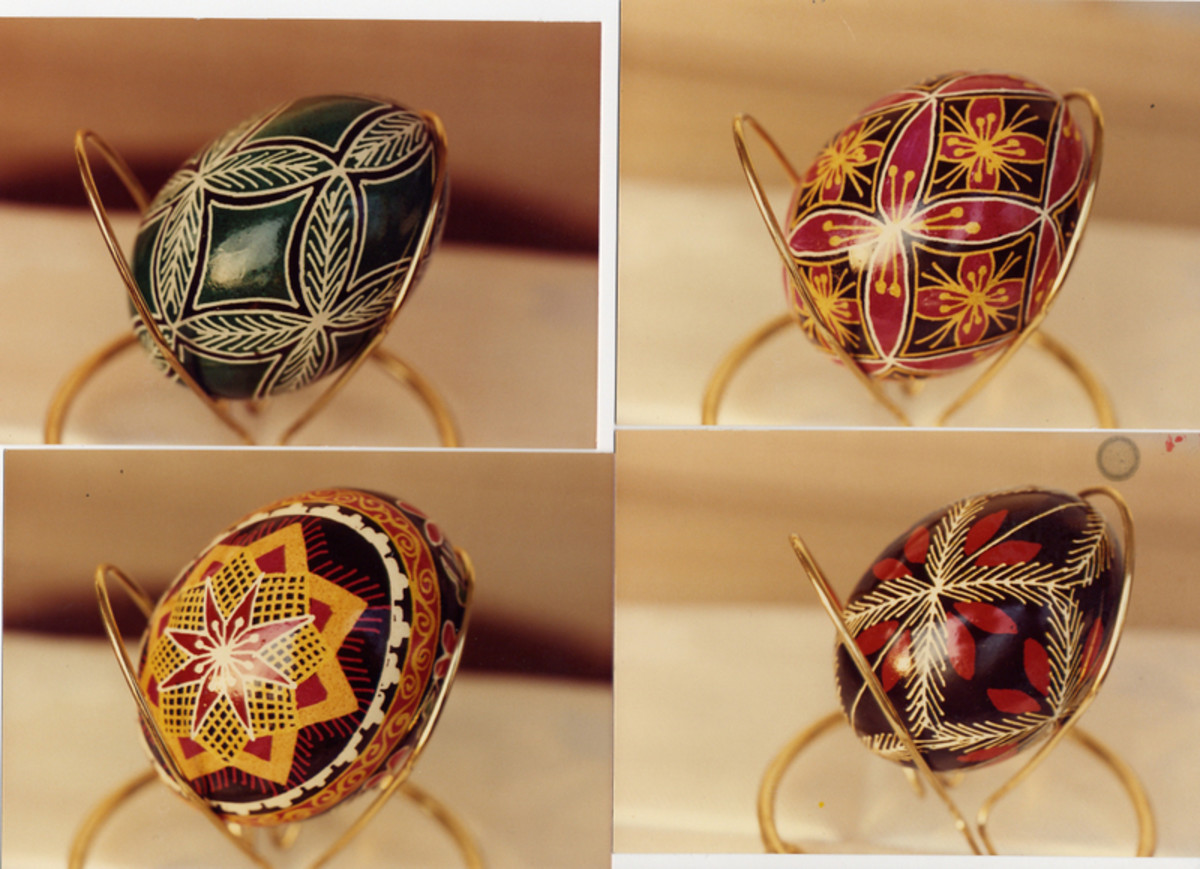 Pysanky are exquisite.