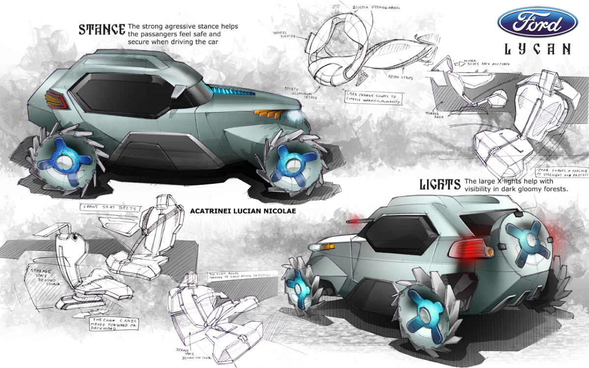 Entry for World Car Design Competition