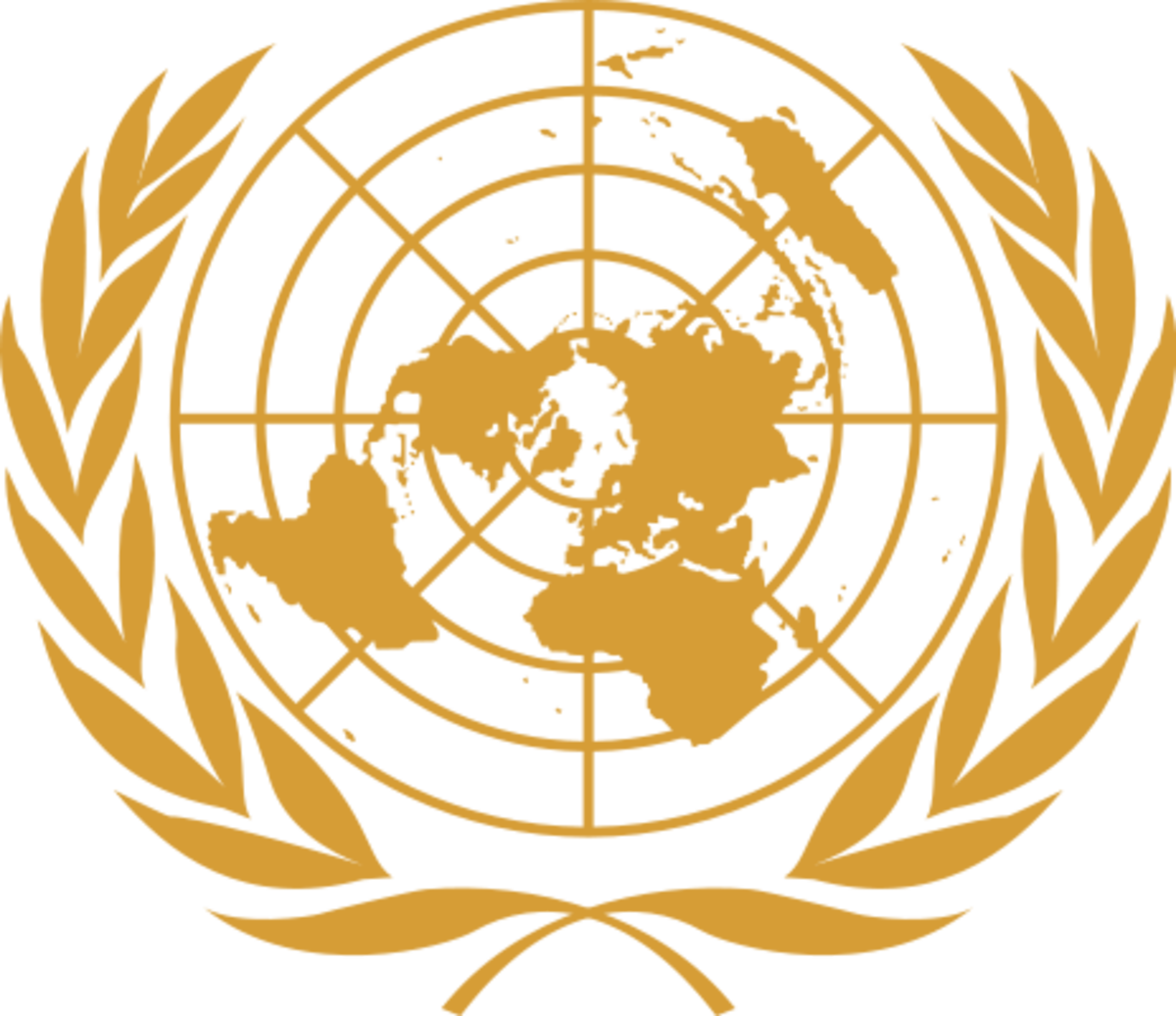 United Nations Emblem (Public Domain)