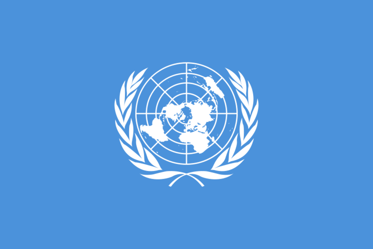 United Nations Flag (Public Domain)