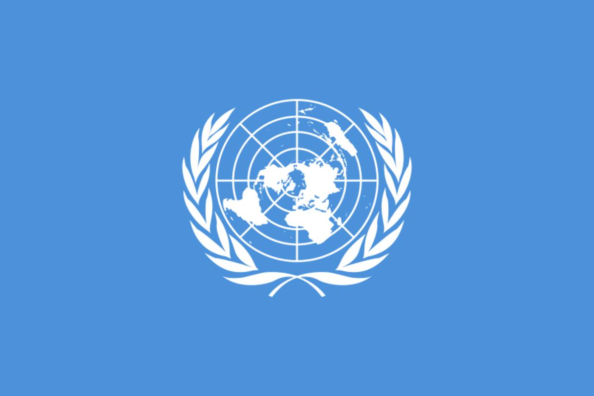 United Nations Flag (Public Domain)