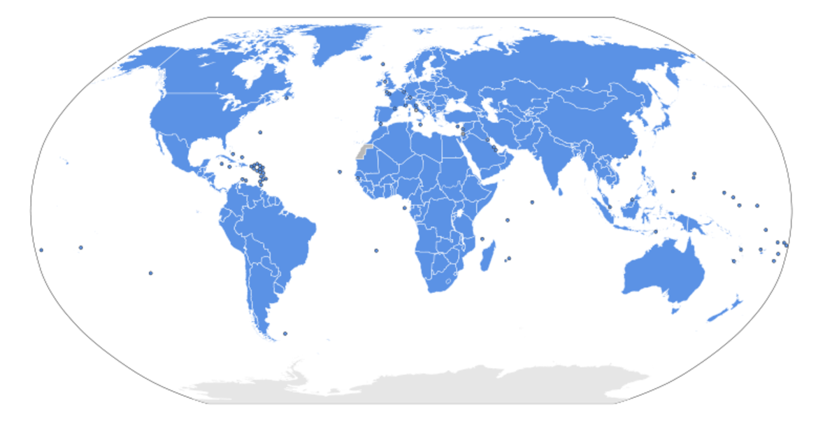 United Nations Members (Licence CC BY 2.0)