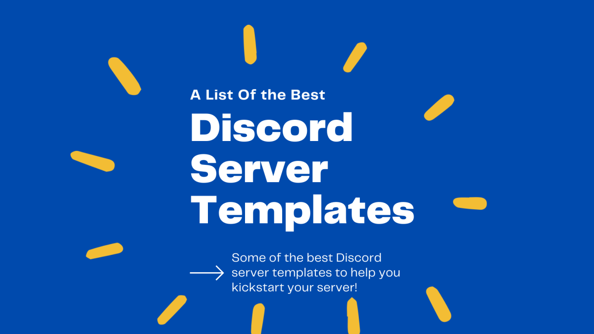 In this guide, we're going to take a look at some of the best Discord server templates there are!
