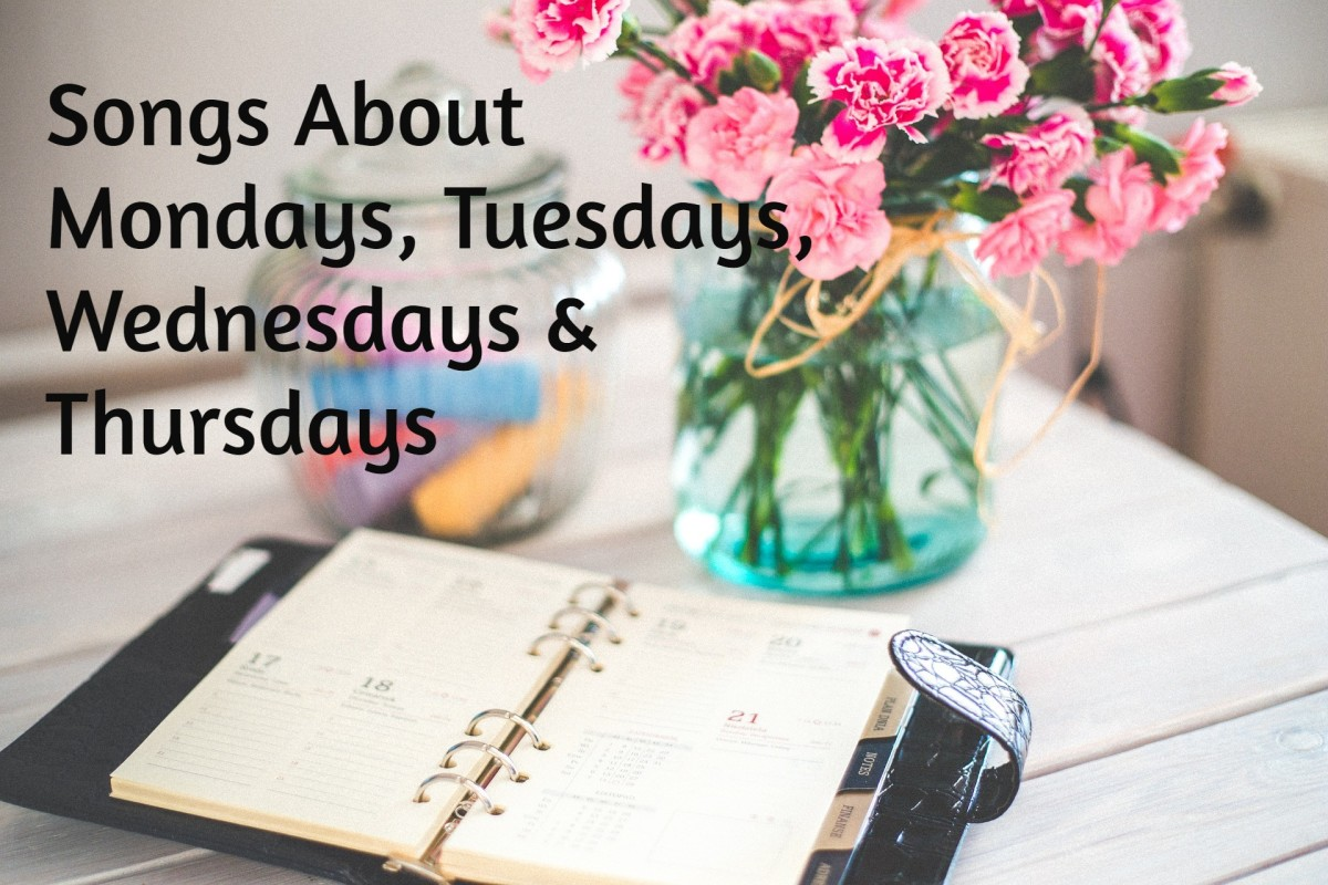 Celebrate the weekdays of Manic Monday, Taco Tuesday, Wednesday (hump day), and Thursday with a playlist of pop, rock, country, and R&B songs.