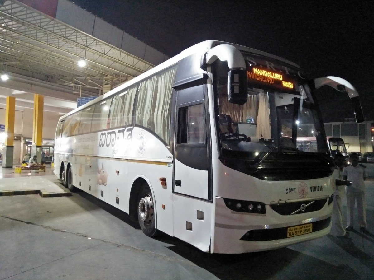 KSRTC's Airawata Club Class Multi Axle Air-conditioned bus