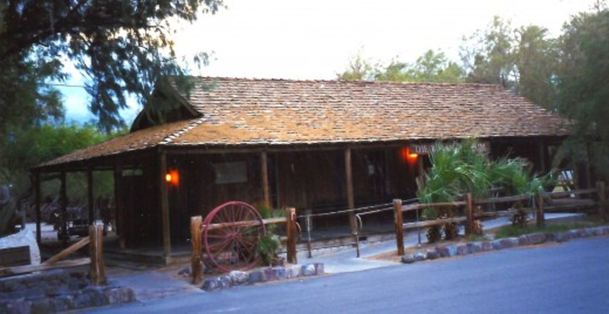 Museum building at Furnace Creek Ranch in Death Valley