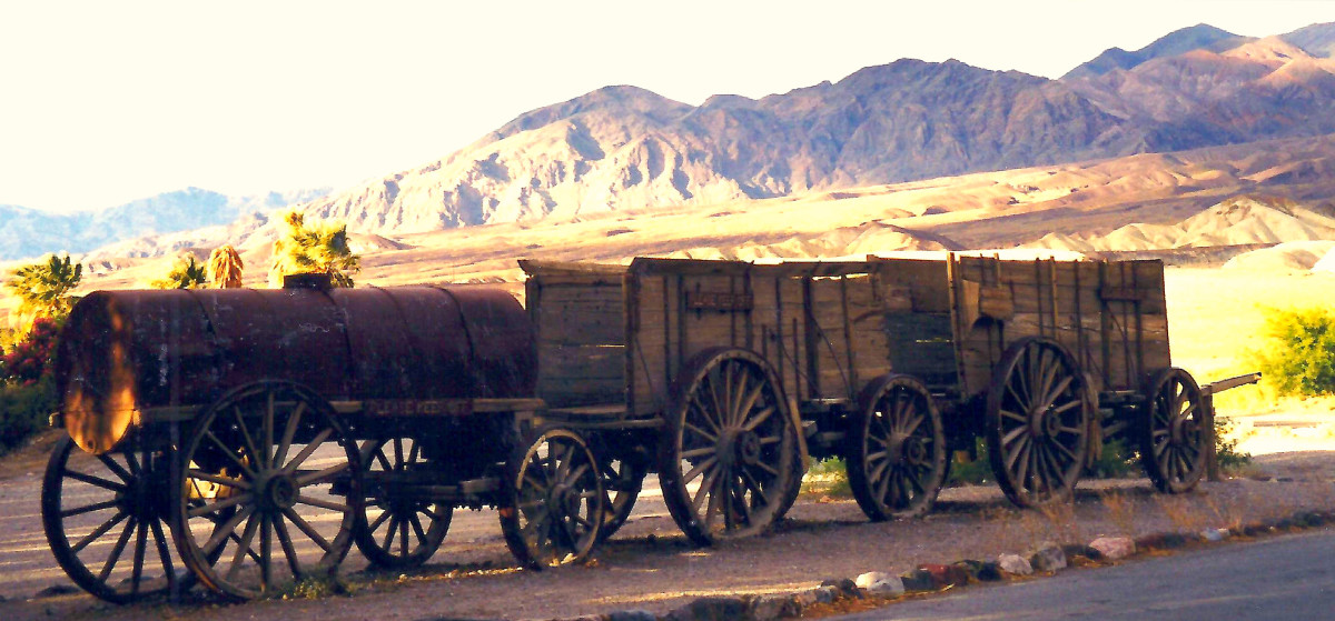Museum Grounds at Furnace Creek Ranch