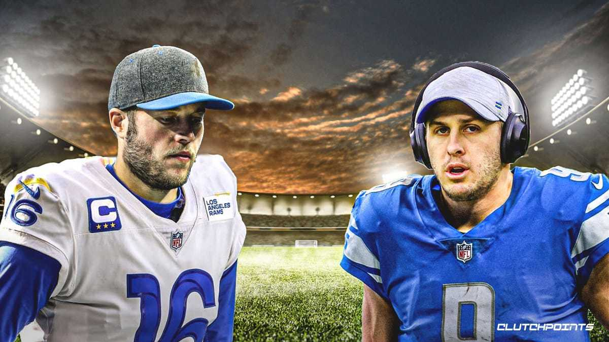 Rams send Jared Goff, two first round picks, and a third for Lions Matt Stafford.