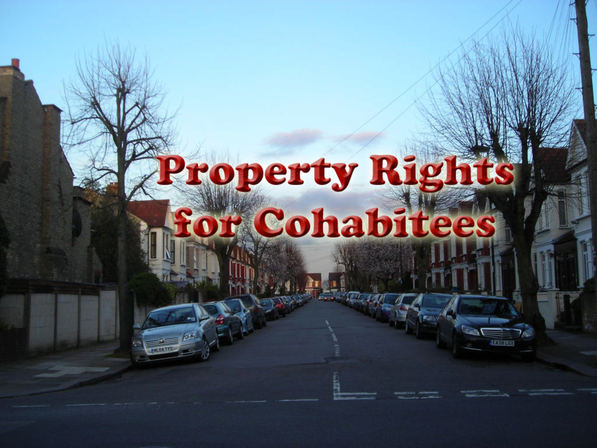 Property Rights for Cohabitees