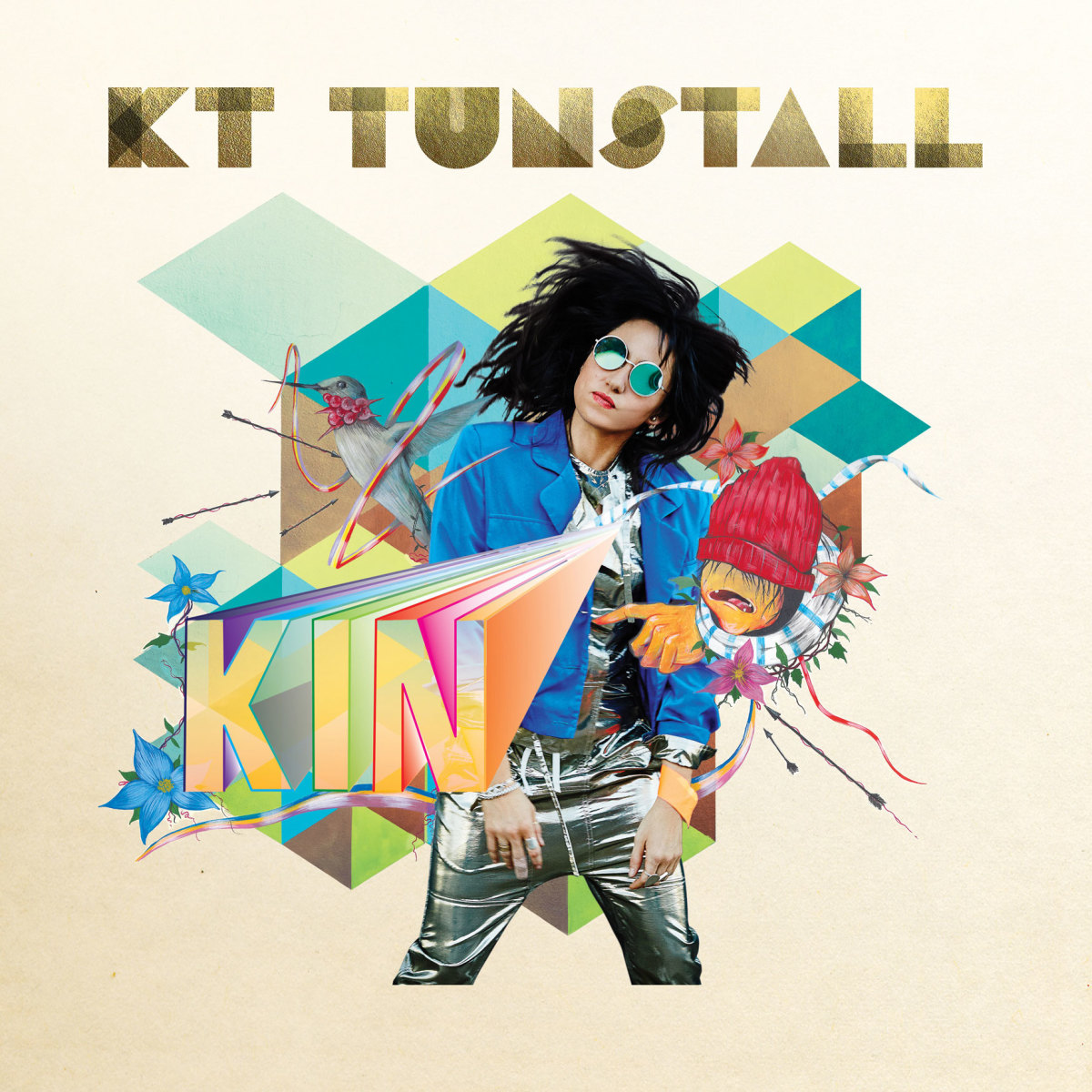 """KT Tunstall's new record, """"Kin"""""""