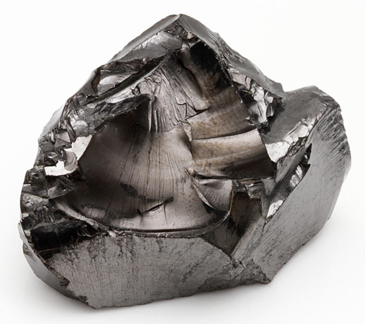 This is Type II Shungite in its natural state but is the most common form. It can be easily shaped and polished. It contains 50 to 70% organic carbon.