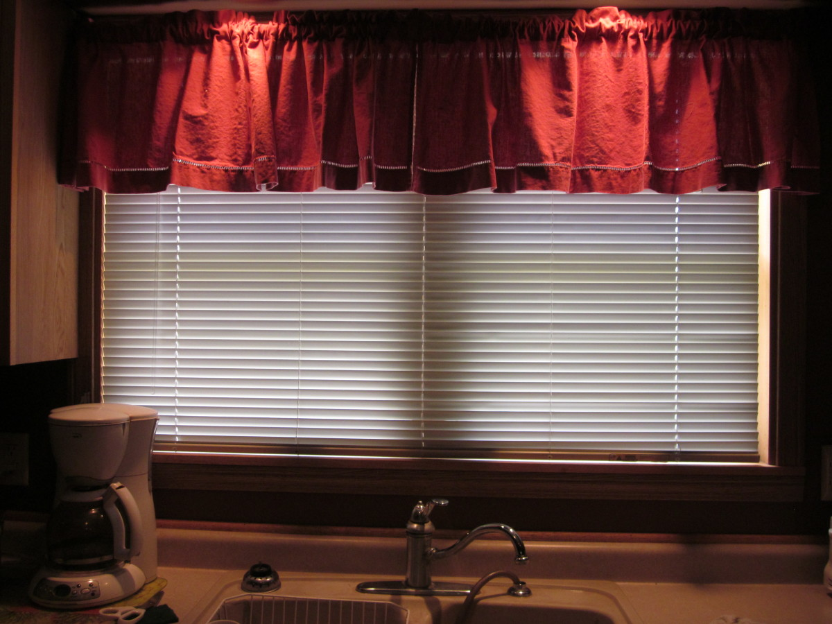 The Blinds are Level and Equidistant From the Window Sill