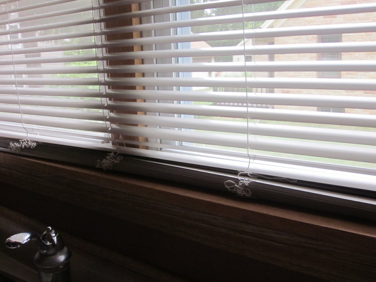 There are many extra slats on the bottom of these Aluminum Mini Blinds. Avoid this with careful measurement of windows.