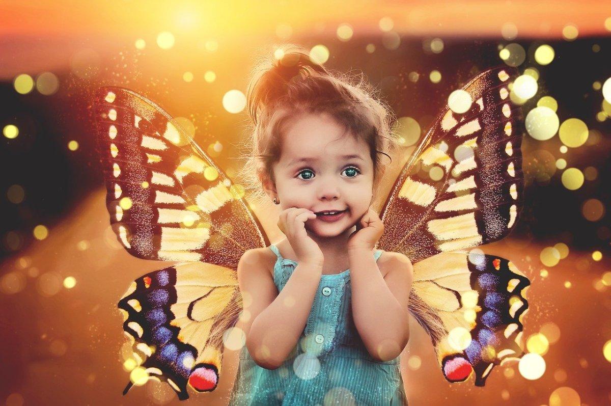 Children have active imagination.