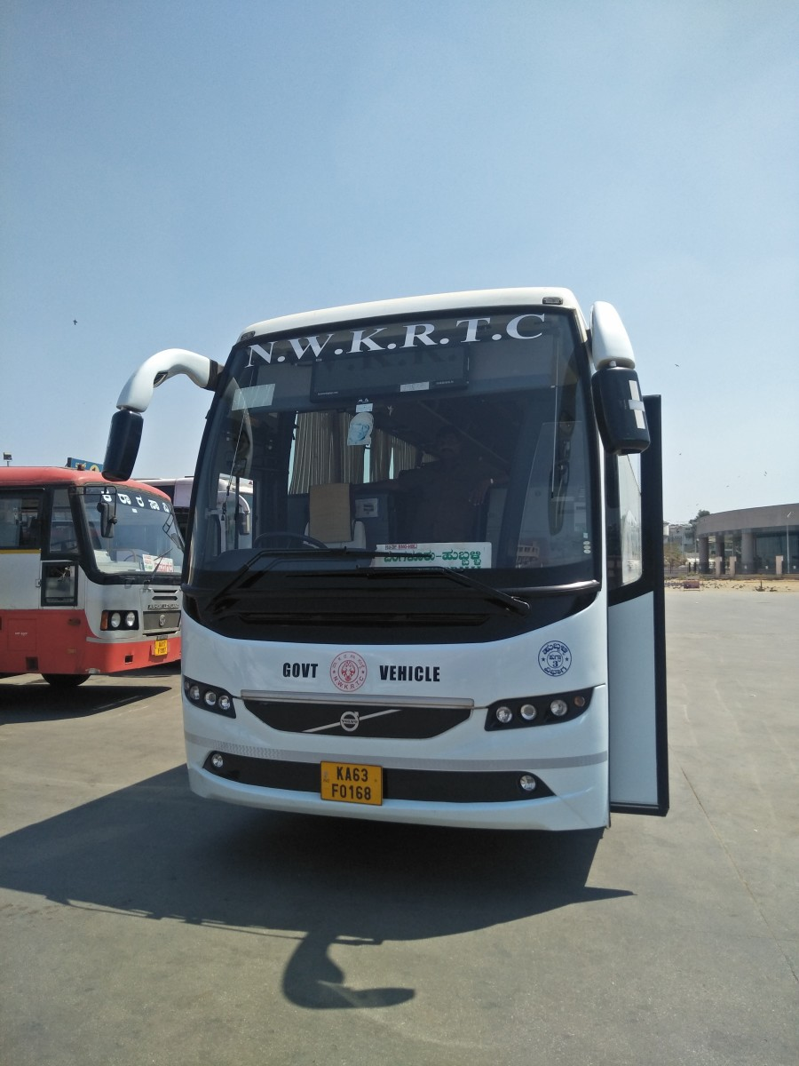 KSRTC's Airawata Club Class Air-conditioned service to Hubballi