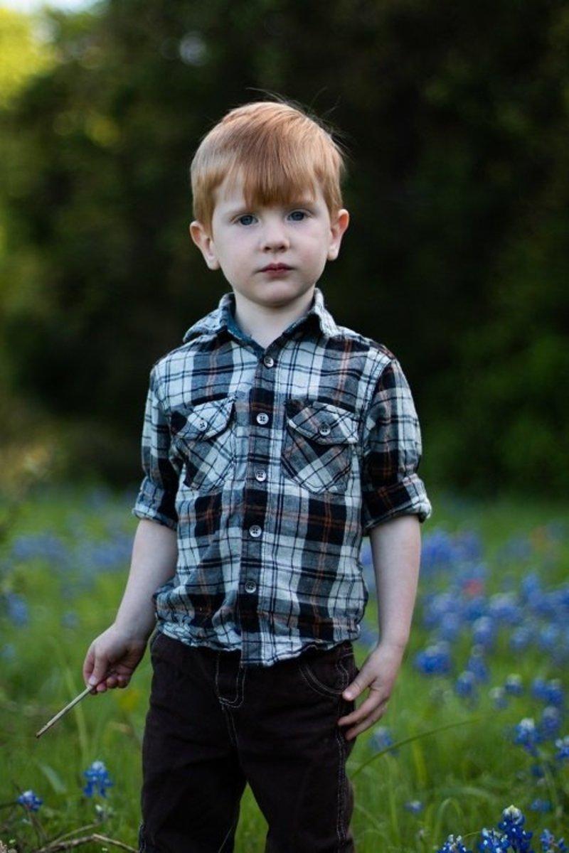 Pic: Nicholas, Tracy's son