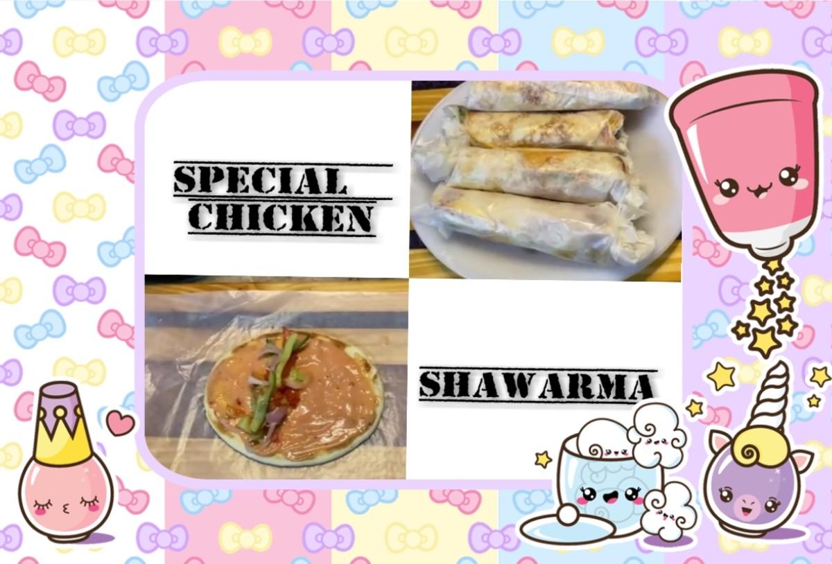 Simple Chicken Shawarma Homemade Recipe