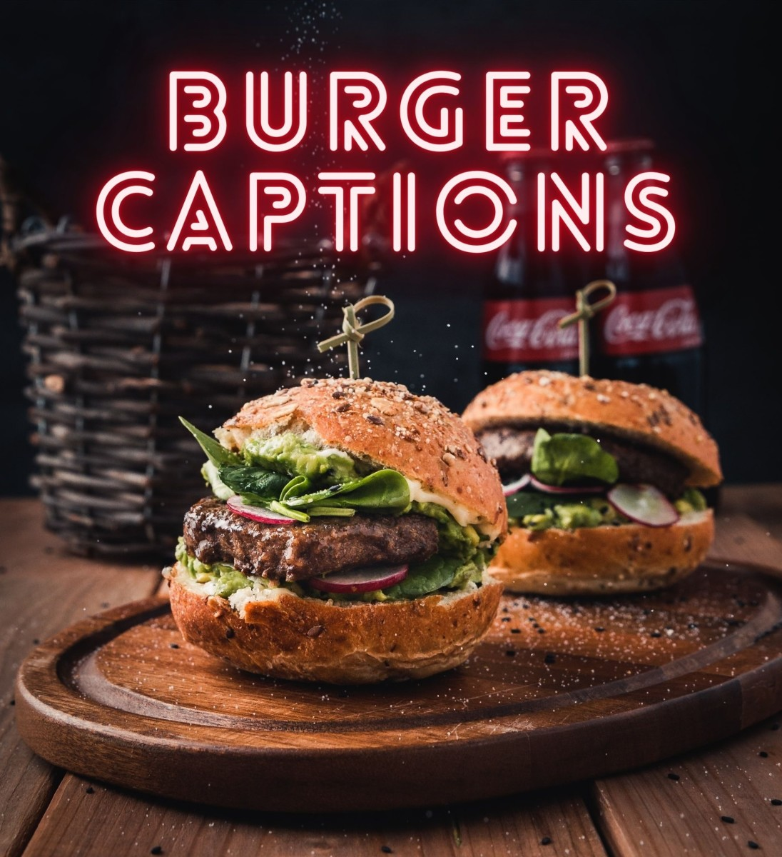 Burger Quotes and Caption Ideas