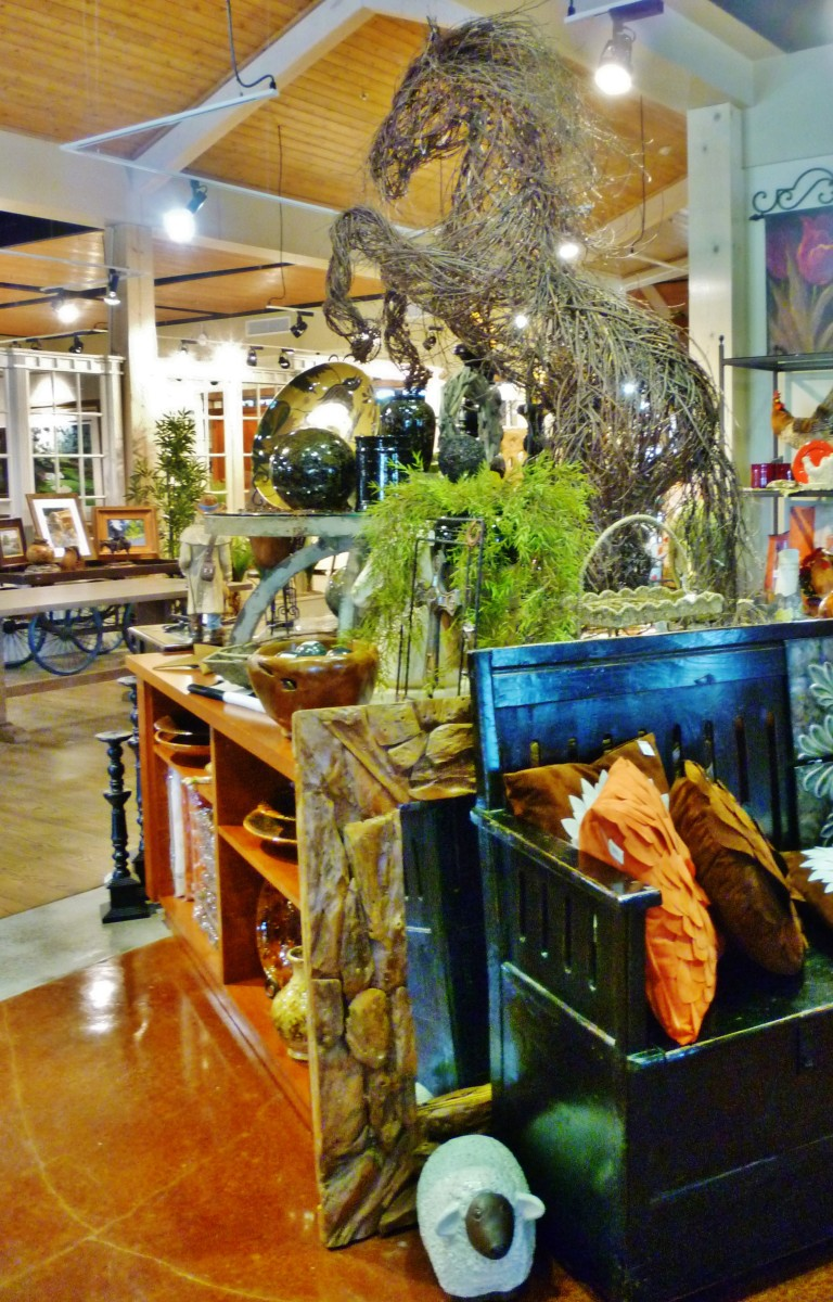 Sampling of Brookwood Gift shop items
